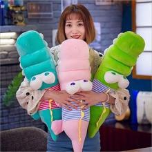 купить Lovely Big Eyes Crocodile Doll Toy Soft Plush Toys Stuffed Animal Plush Pillow Toy Children Kids Birthday Gifts дешево
