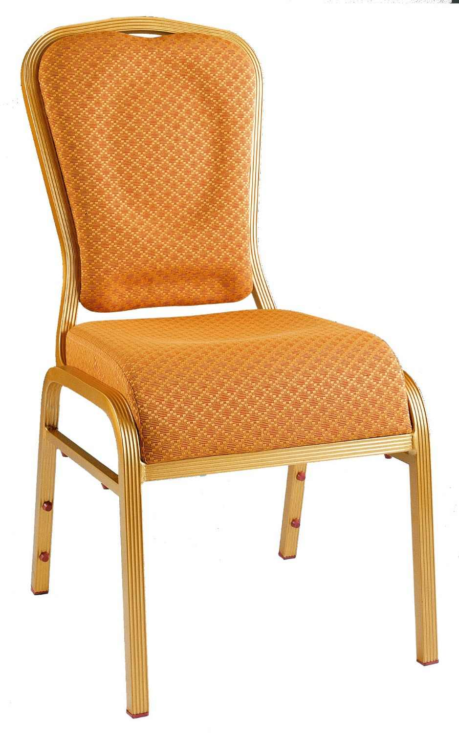 Wholesale Quality Strong Gold Aluminum Vip Banquet Chairs Lq