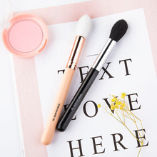 1PCS RANCAI Single wooden handle brush highlighter to brighten nose shadow beauty tool flame