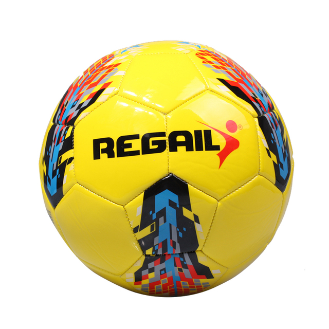 Ball Size 5 PU Machine Sewn Soccer Durability for Teenager Football Game Training New Arrival Outdoor PU Game