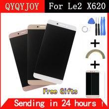 Qyqyjoy для LeTV LeEco Le 2×620 ЖК-дисплей Экран ЖК-дисплей Дисплей + Сенсорный экран Замена Аксессуары для LeTV X520 X527 Бесплатная доставка