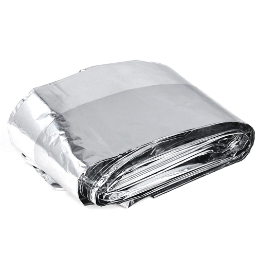 10 PCS FOIL SPACE <font><b>BLANKET</b></font> EMERGENCY SURVIVAL <font><b>BLANKET</b></font> - 160*210cm
