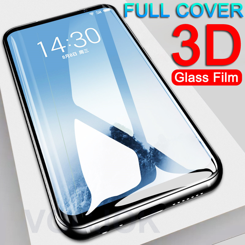 Full Cover Tempered Glass On The For Meizu Meizu 15 16 Th Plus Lite 16X Protective Glass For Meizu M15 X8 Note 8 Pro 7 Plus Film