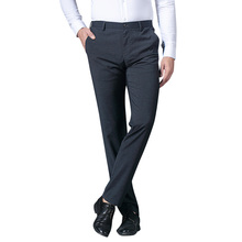 TFETTERS 2019 New Arrival Good Quality Men Suit Pants Formal Wear Summer Casual Trousers New Male Suit Pants Men Suits Trousers