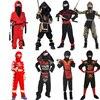Cosplay Cloth Costume Children Mysterious Ninja Outfit Boys Samurai Suit Girl Gorgeous Samurai Costumes Warrior Nocturnal