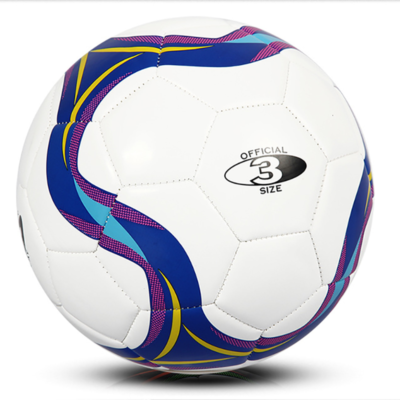 CROSSWAY Russia Size 3 Football Primary Seamless Soccer Ball Goal Team Outdoor Match Training Balls Equipment Kids Gift