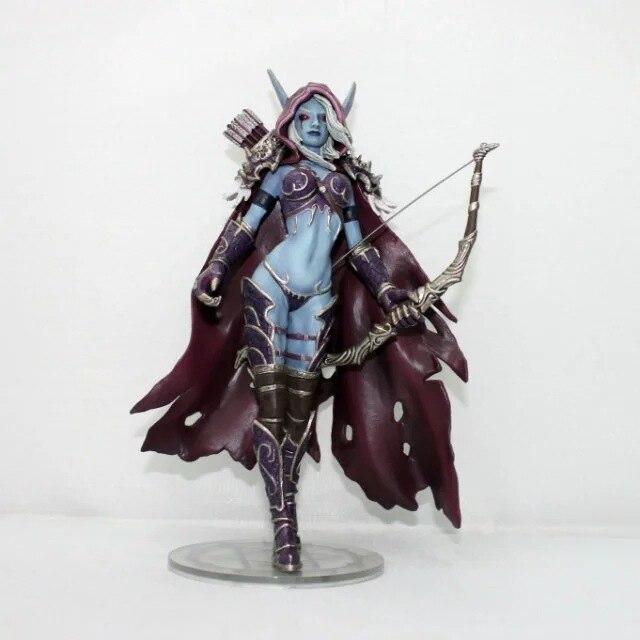Windrunner Action Figure World of Warcraft Forsaken Queen Sylvanas Kid Toy Gift 3