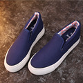 Flats Women Shoes fashion Creepers Slip-On Women Flats Platfrom Breathable Casual Canvas Shoes Loafers  5d53T