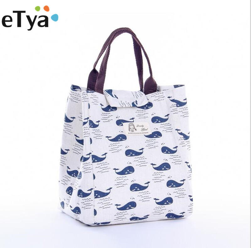 Fashion Women Insulated Lunch Bags Thermal Cooler Picnic Food Cooler Bag Storage Tote Lunch Bags Case Pouch цена