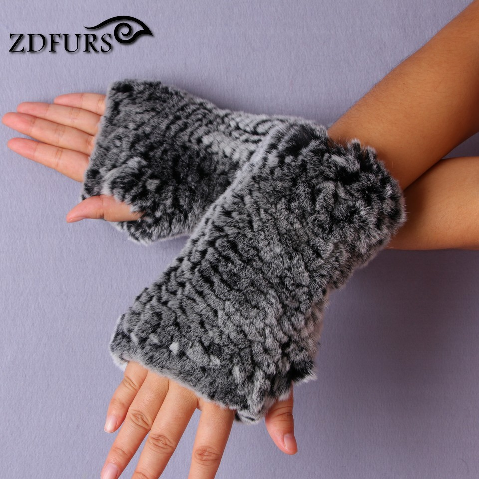 ZDFURS * 2017 New Women's 100% Real Genu