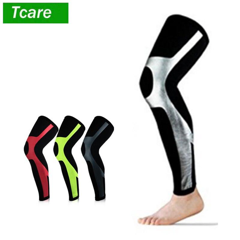 1Pcs Recovery Compression Leg Sleeves Brace Support- Sport Football Basketball Cycling Strech Leg Knee Long Sleeve
