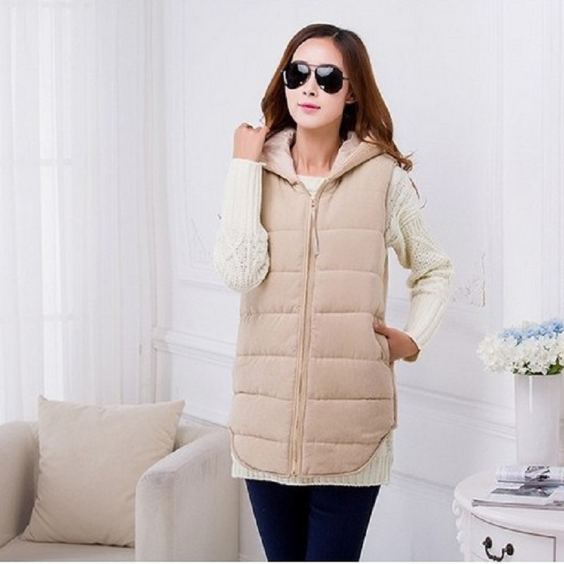 ФОТО Winter maternity vests women's vests down jacket warm coat maternity clothing outerwear pregnant vest