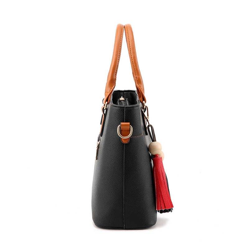 Moda bolsa de Ombro bolsas de luxo mulheres sacos de designer de 2019 Grande Crossbody Mão Boho Verão Noite Saco Cluth Couro Preto Do Vintage