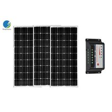 Solar Panel Kit 300W 3*100W Solar Panel 18V 12V Battery Charger PWM Solar Charge Controller 30A 12/24V Motorhome Boat Camp