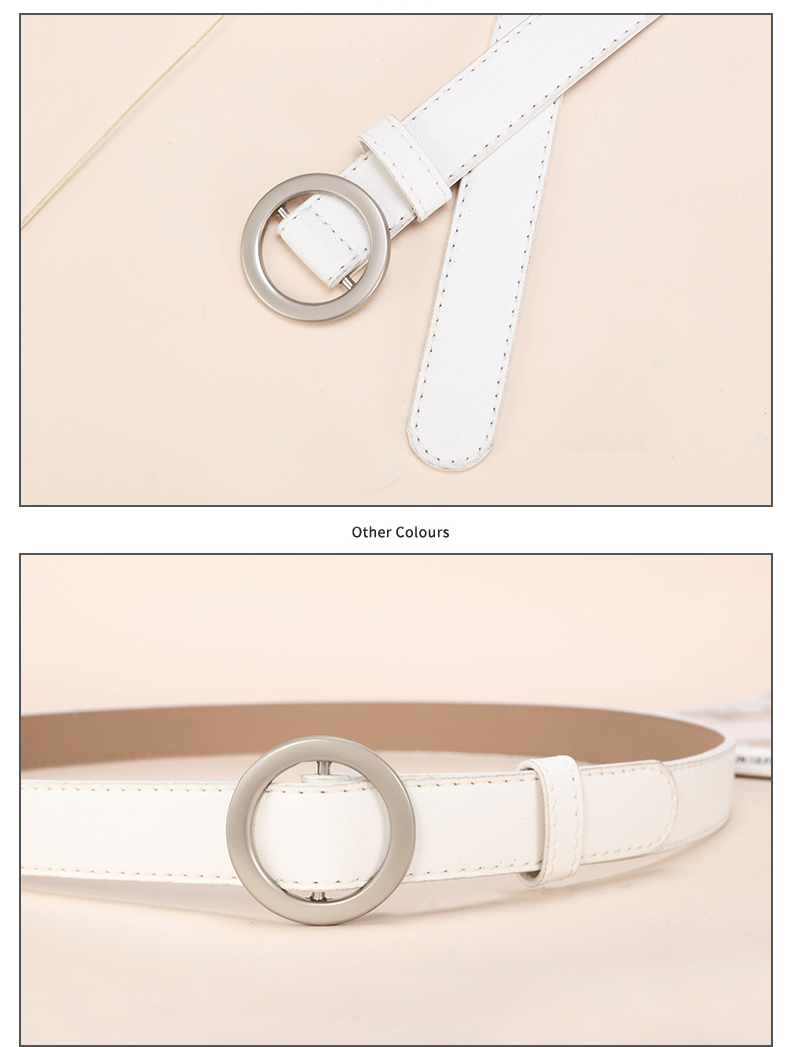 HTB13UbLTiLaK1RjSZFxq6ymPFXaM - JIFANPAUL ladies simple versatile belt ladies pure leather fashion punk round pin buckle decorative jean thin belt