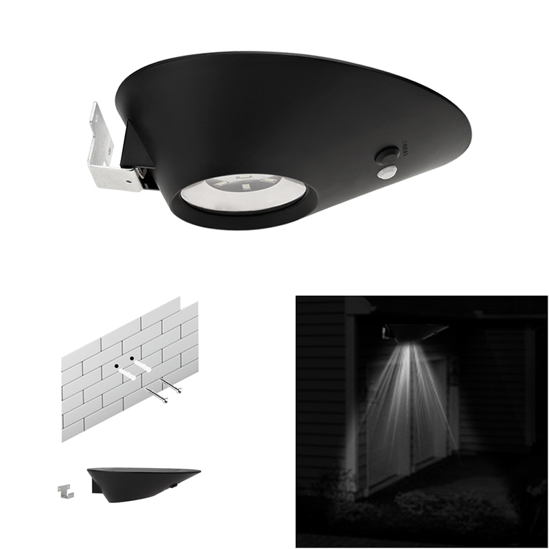 YY206 7PCS Led 2W oval solar wall lamp Light 6500K Waterproof Modern Home Lighting Indoor and Outdoor Decoration Ligting цены