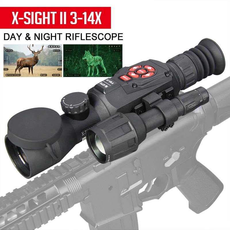 EAGLEEYE Tactical Night Vision Rifle Scope HD 3-14X Day And Night hunting Riflescope Bluetooth Wifi For ShootingGZ27-0025