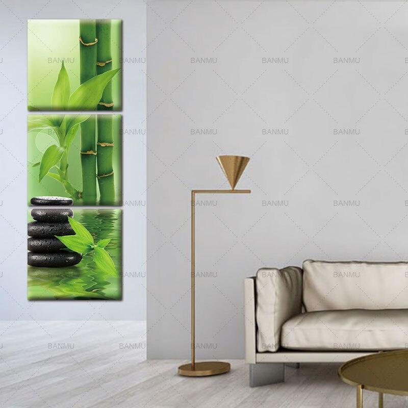 3 панел Wall Art платно боядисване стена - Декор за дома - Снимка 5