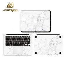 Calacatta marmor korn aufkleber vinyl film für apple macbook air pro Retina 11 12 13 15 Zoll Aufkleber Laptop Fall Skins