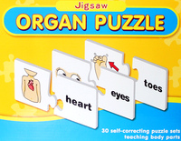 Children Jigsaw Early Education intelligence Toy Learn English Word Match Letter Game For Kids