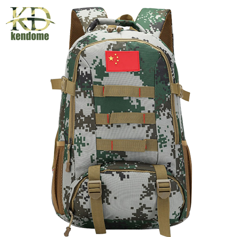 Hot Sale!!! Men Military Backpack Molle Camouflage Travel Bags 40L Waterproof Nylon Bags Multi-function Laptop Backpack 2018 casual military army camouflage backpack unisex waterproof nylon laptop backpack for men male multi function school bagpack