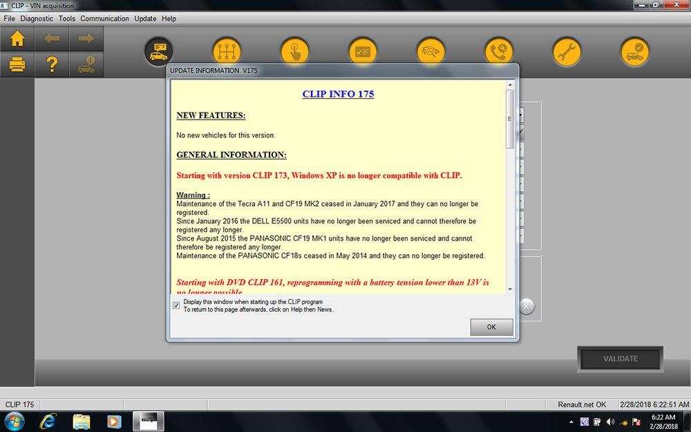 Mais novo v187 software cd para renault pode clipe ferramenta de diagnóstico