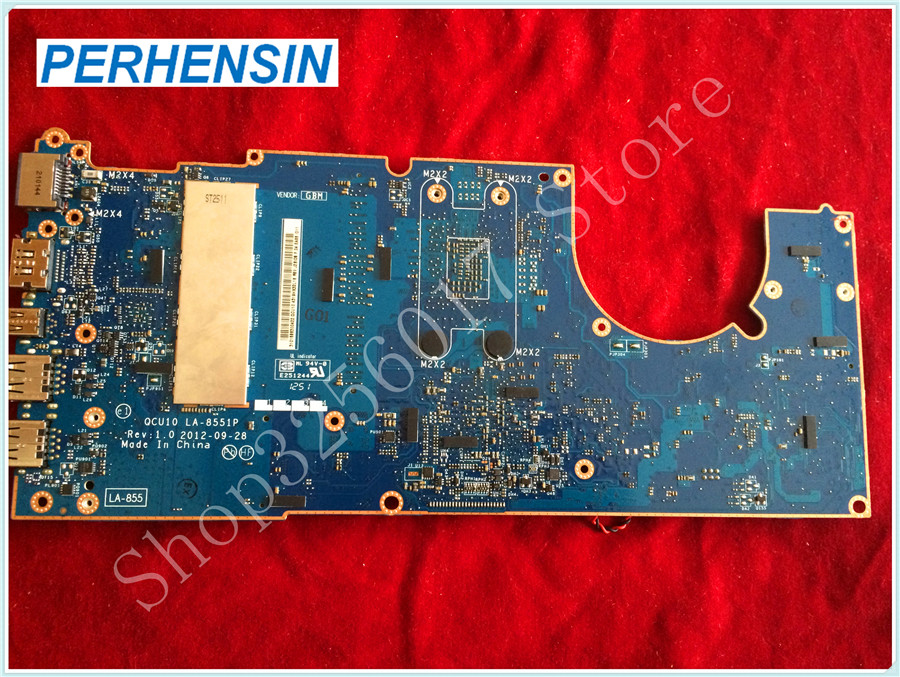 For HP For SPECTRE XT TOUCHSMART 15-4010NR i7-3517U MOTHERBOARD 700814-501 LA-8551P 100% tested good