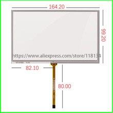 7 дюймов 4 проводной резистивный сенсорный экран, AT070TN92 90 AT070TN94 HSD070IDW1-D00E11 дигитайзер стеклянная Сенсорная панель ST-07006 165 мм* 100 мм 164 мм* 99 мм