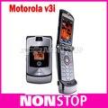 Motorola V3i мобильный телефон 100% Оригинал Motorola Razr v3i разблокированный телефон восстановленное