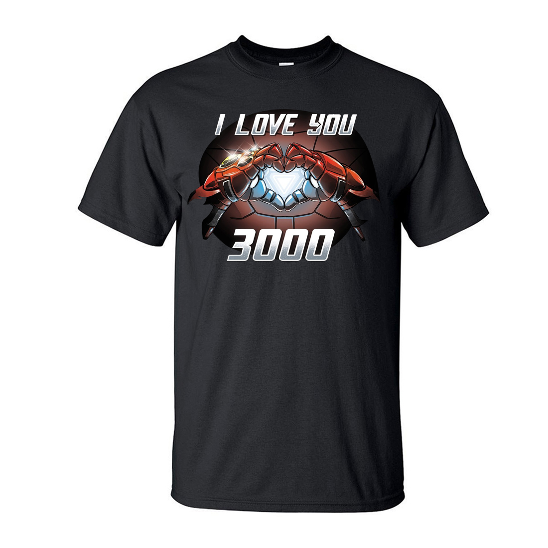 ALI shop ...  ... 33014983832 ... 1 ... Tony Stark I Love You 3000 T-Shirt Men The Avengers Iron Man Moive Shirt 2019 New Summer Casual Plus Size Tops Tees S-3XL ...