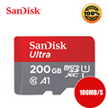 SanDisk 64gb micro sd 32gb 16gb TF card 128GB carte sd flash memory card 200GB microsd class10 Original free ship tablet android