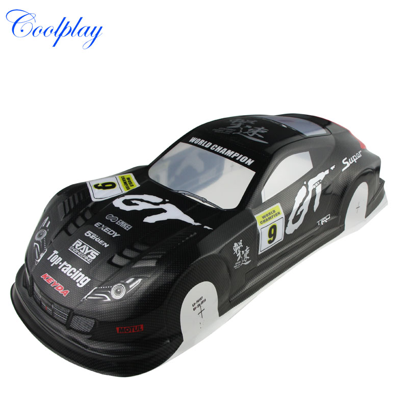 RC 1:10 Scale On-Road Drift Car Painted PVC Body Shell 190MM,Body Shell AX10 } 1 10 rc car 190mm on road drift rally subaru body shell blue