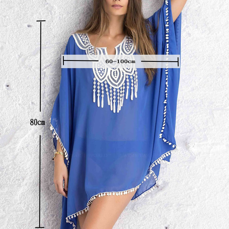 Summer Dress Beach Dresses Women Tunic Women's Robe De Plage Pareo For Beach Wear Bikini Cover Up Playa Beachwear Beach Tunics 3