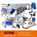 Kit turbo completo para honda d d15 d16 cívica 250hp 1992-1994