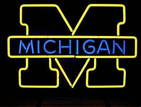 MICHIGAN Glass Neon Light Sign