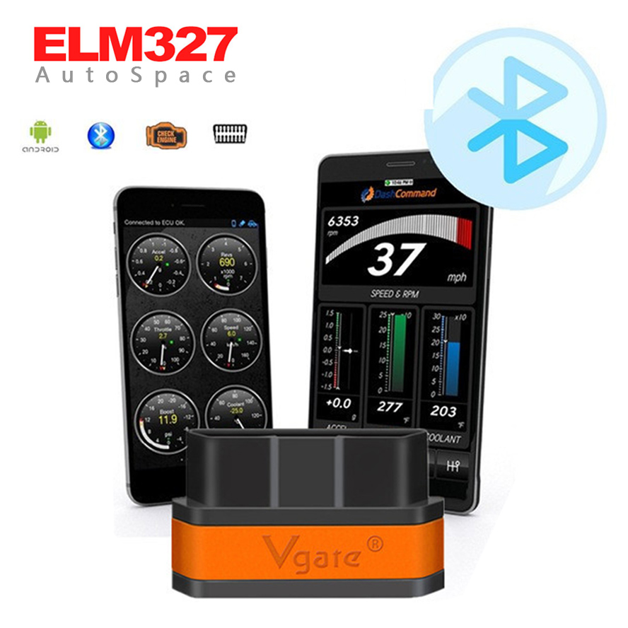 Hot ELM 327 Vgate Bluetooth iCar 2 II OBDII font b Car b font Code Reader