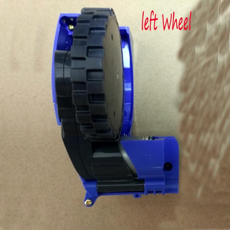 1pcs original left Wheel for irobot roomba 620 650 630 660 595 780 760 770 robot 600 700 500 Series robot vacuum cleaner Parts