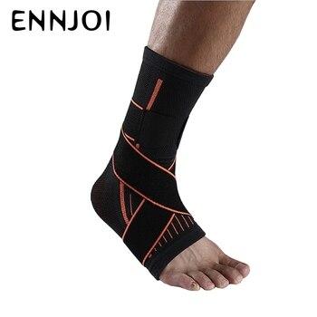 Nylon Oddychające Bezpieczeństwa Wsparcie Kostki Gym Running Ochrona Akcesoria Elastyczne Ankle Brace Zespół Straży Sport Stóp Bandaż