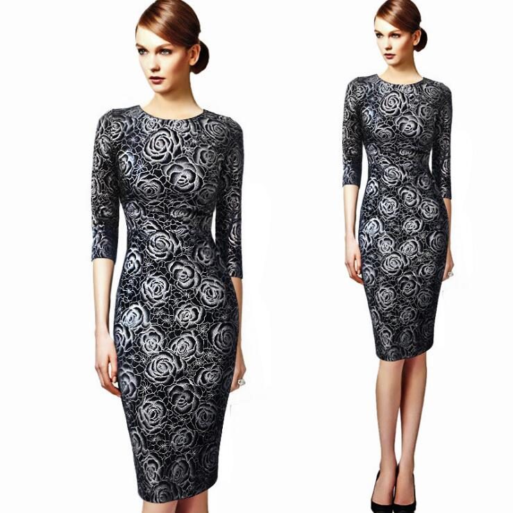 Womens Elegant Sexy Crochet Party Evening Special Occasion Sheath Fitted Vestidos Dress