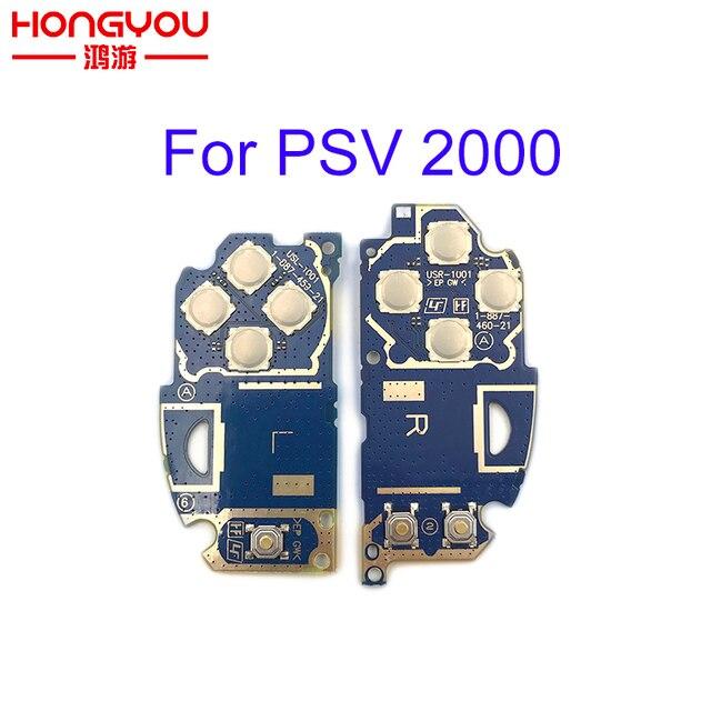 Gauche LR L R commutateur PCB module carte LR carte de commutation pour PS Vita 2000 PSV 2000 PSV2000