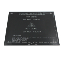 For RepRap 3D Prusa & Mendel Printer MK2A 300*300*3.0mm Heater Bed RAMPS 1.4 PCB Aluminum Heatbed Plate PCB heat bed