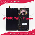 """5.5"""" inch 1280*720 Touch Sensor For Lenovo A7000 LCD Display Screen with Touch Screen With frame"""
