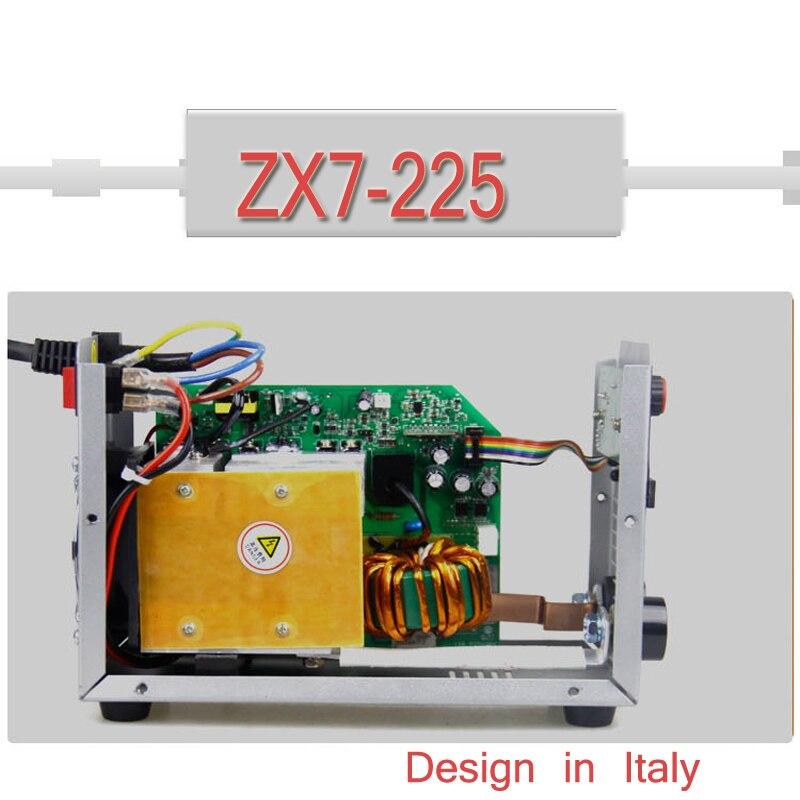 Hohe Qualität Inverter Schweißen Maschinen DC ZX7-225, ARC Schweißer Professionelle IGBT MMA ARC Digitale Schweißen Maschine