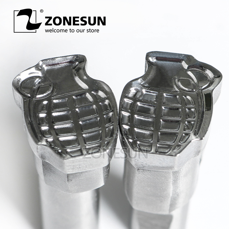 ZONESUN Bomb shape Tablet Press 3D Punch Mold Candy Milk Punching Die Custom Logo punch die TDP1.5 5 Machine Free Shipping