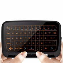 H18+ Wireless Air Mouse Keyboard 2.4 Ghz Mini Keyboard Mouse with Backlit for Android TV Box,PC, HTPC, IPTV, XBOX 360, PS3, PS4