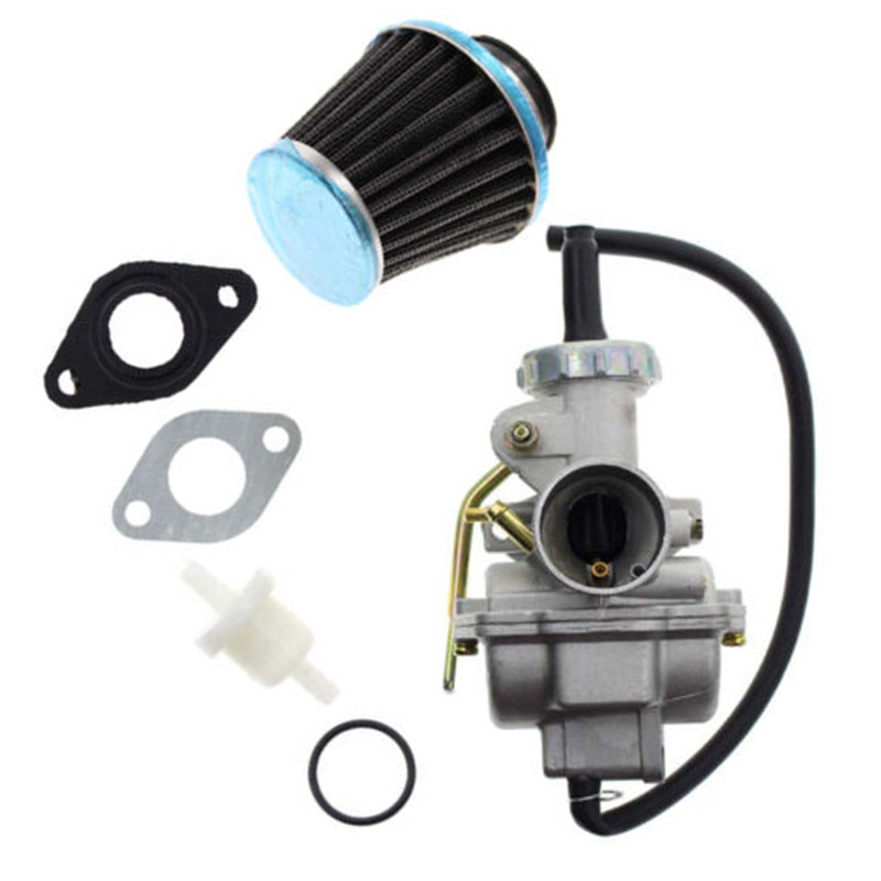 20mm PZ20 <font><b>Carburetor</b></font> Carb Kit For 49 50 70 90 100 110cc 125cc ATV Quad Go Kart image