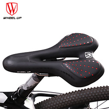 Bicycle Seat Cooling Shock Cushions Mountain Bike Silicone Breathable Night Riding Reflective Saddle Cushion Equipment