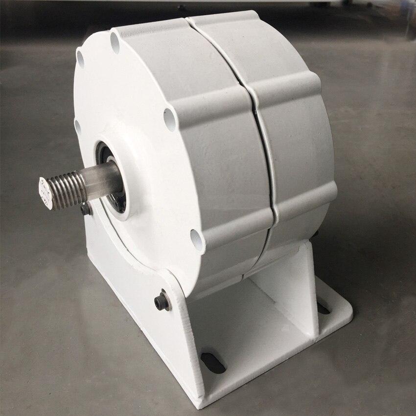 Générateur 300 W avec contrôleur de chargeur de vent 12 V/24 V triphasé AC système de éoliennes à aimant permanent bricolage - 6