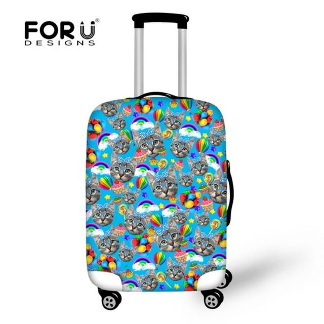 Waterproof Travel Luggage Protector Dust Spandex Covers Elastic ...
