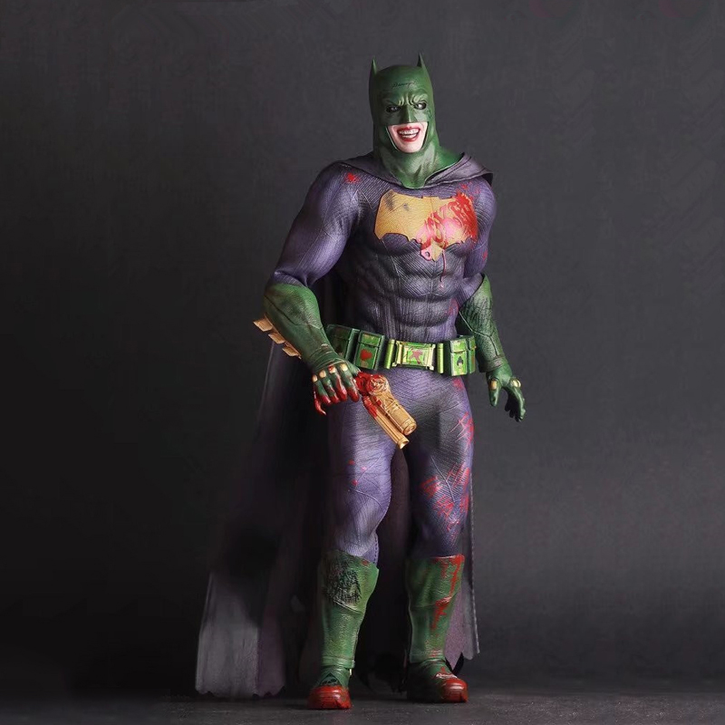 28cm Batman Justice League The Joker PVC Action Figure Toy Doll Kids Adult Collection Model Gift